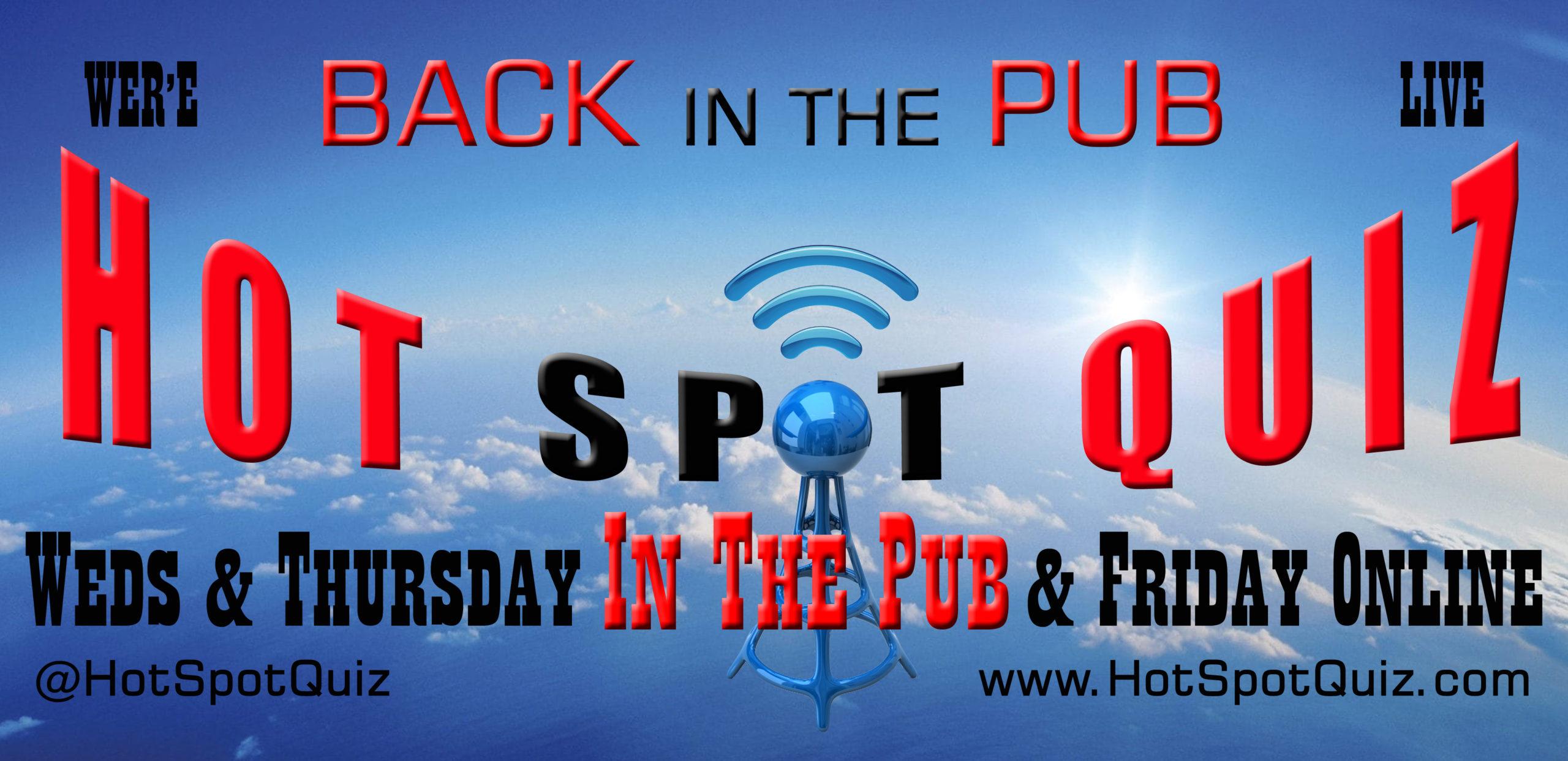 Hot Spot Quiz TV - Live!